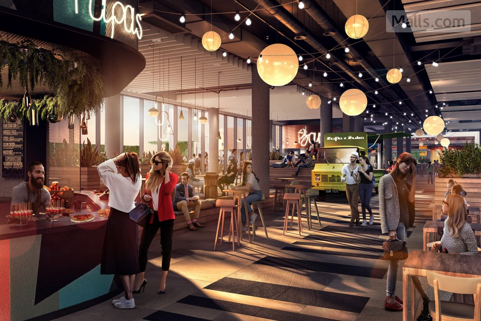 A New Lifestyle-led Shopping Center Opens in Warsaw - Poland