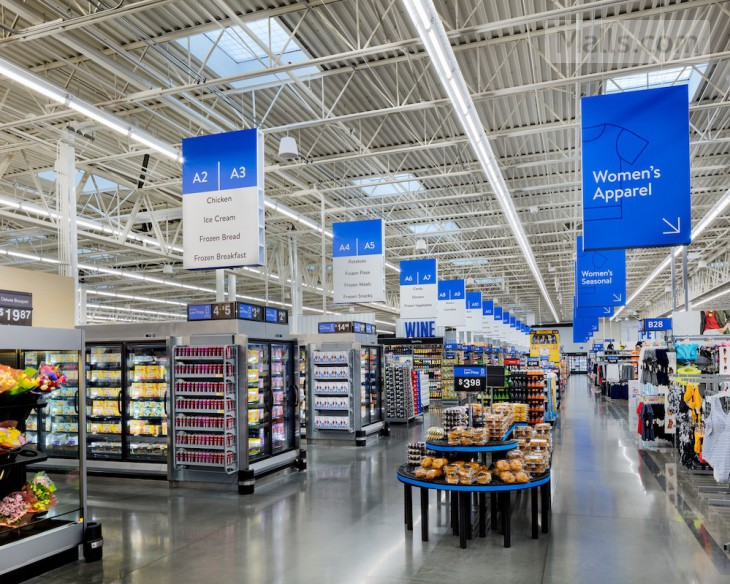 Walmart will renovate thousand of supercenters in digital-style