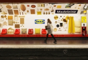 IKEA Turned the Metro Station into a Showroom