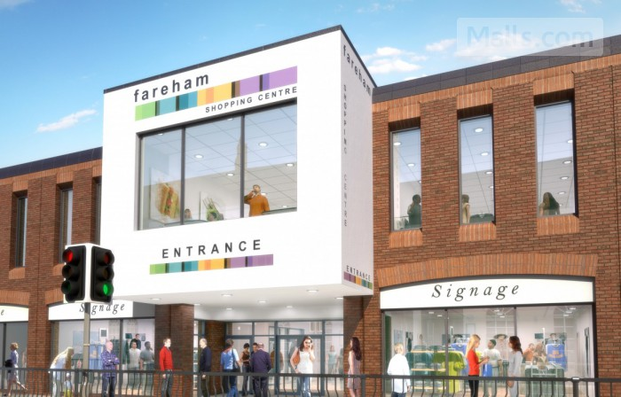 Fareham Shopping Centre photo