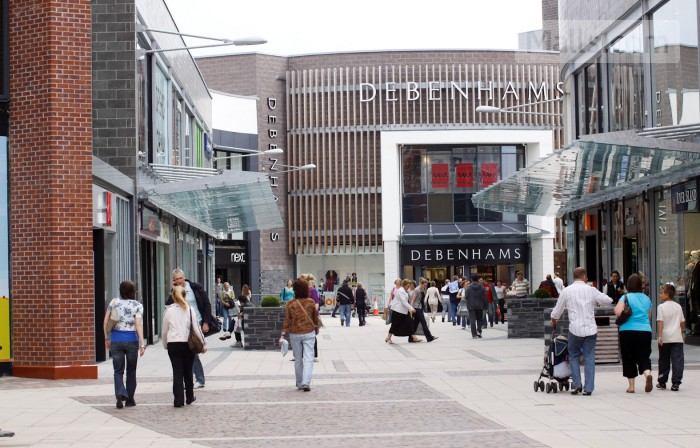 Grange & Pyramids Shopping Centre photo