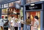 Facebook Will Open a Pop-up Cafes for Its Users