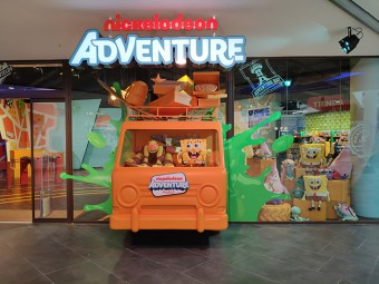 First Nickelodeon Adventure Amusement Park Opened in Greater London
